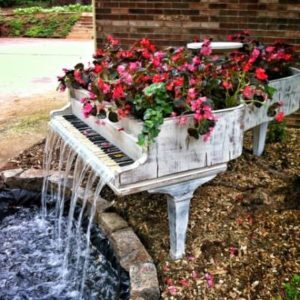 piano-fountain