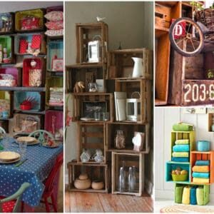 12 Upcycled Crate ideas
