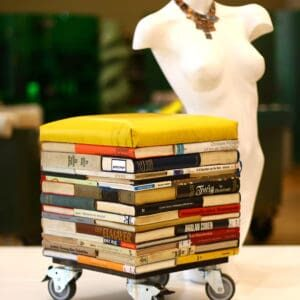 recyclart.org-book-stool1