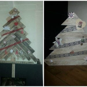 Christmas Trees From Repurposed Pallets 1