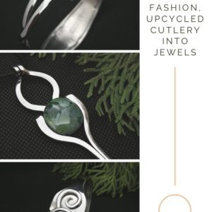 From Trash to Fashion, Upcycled Cutlery Into Jewels