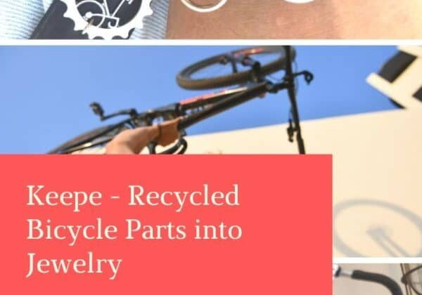 Keepe - Recycled Bicycle Parts into Jewelry