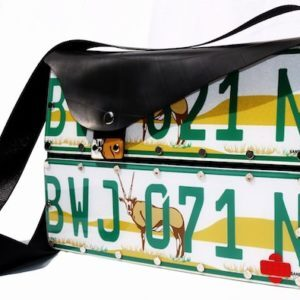 numberplate handbag