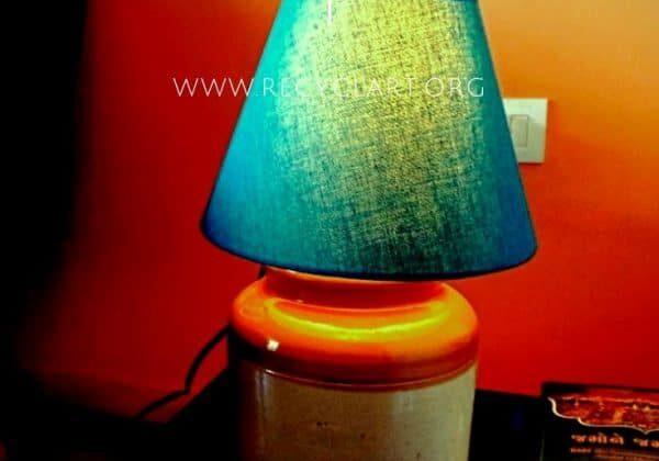 Pickle Jar Into Table Lamp