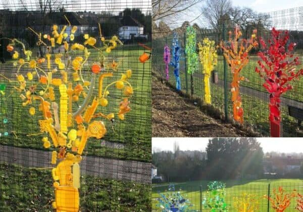 Upcycled-plastic-trees