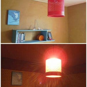 Trashcan Untrashed Into Hanging Lamp 1