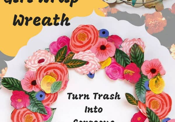 recyclart.org-upcycled-gift-wrap-wreath-trash-into-gorgeous-decor-06