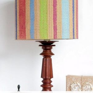 recyclart.org-yoga-mat-upcycled-into-original-lamp-shade-05