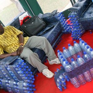 recycled bottle furniture1