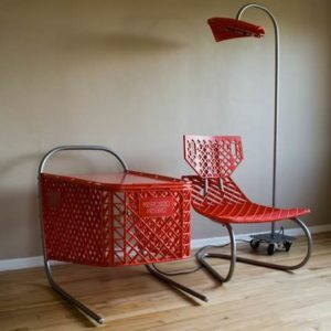 recycled-shopping cart