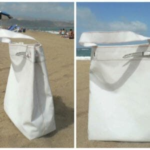 Simply White - Shopping and relax Bag by Barracuda Bags 1