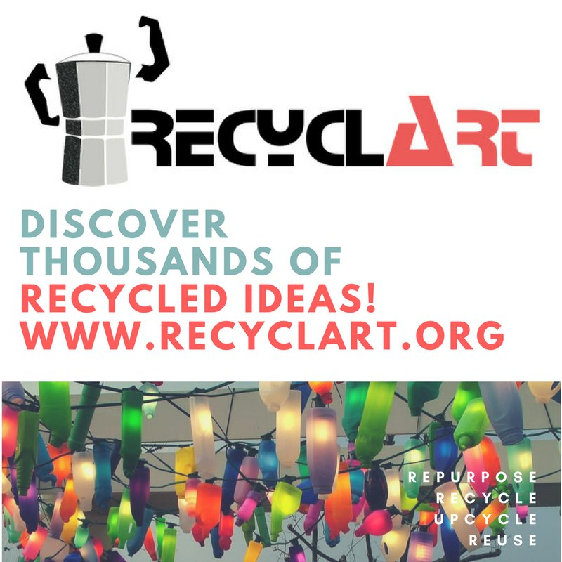 Creating your own home décor with recycled materials